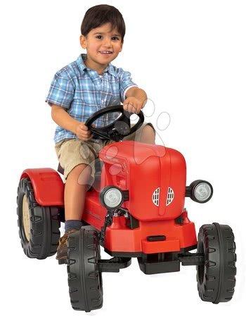 Vehicule cu pedală pentru copii - Tractor cu pedale Porsche Diesel Junior BIG roşu_1