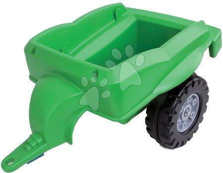 Vehicule cu pedală pentru copii - Remorcă pentru tractoarele BIG verde