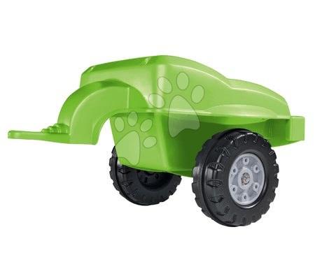 Vehicule cu pedală pentru copii - Remorcă pentru tractoarele BIG verde_1
