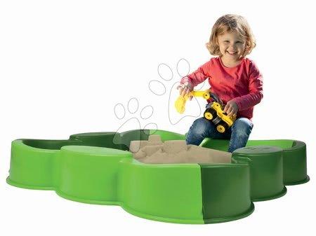 Nisipare pentru copii - Nisipar trifoi Vario BIG verde 112*112 cm de la 12 luni