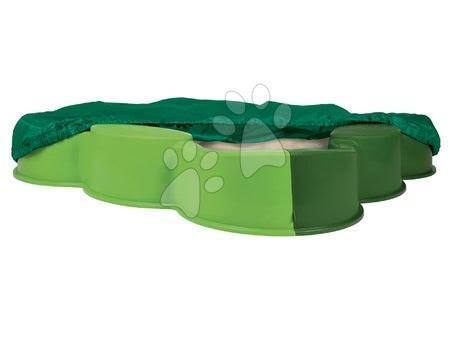 BIG 56722 pieskovisko VARIO štvorlístok zelené s krytom plachtou od 12 mesiacov