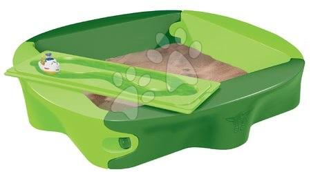 Pieskovisko Sandy BIG s krytom objem 239 litrov 138*138 cm zelené od 12 mes