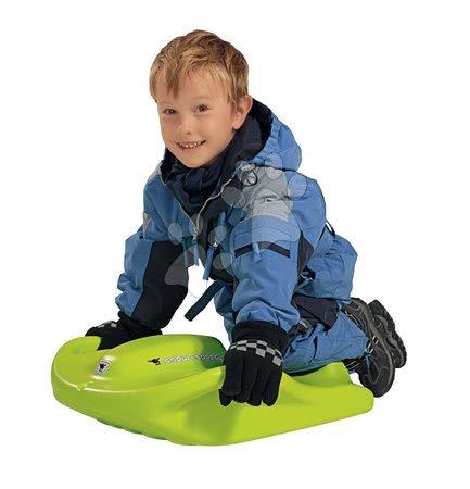 Boby Snow Speedy BIG s úchytkami robustné zelené od 6 rokov