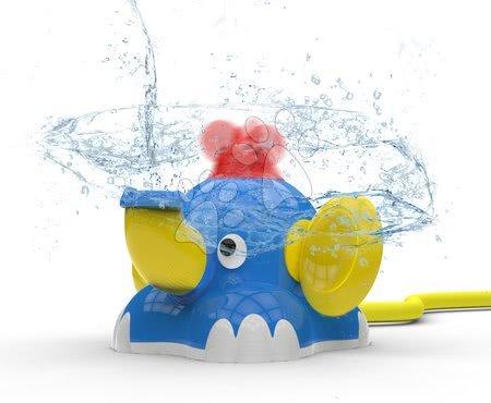 Brizgajoči vodni slon Aquafant BIG z vrtečo miško in priklopom na vrtno cev z dometom 2 m od 12 mes