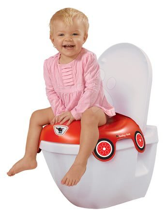 Redukcia na toaletu autíčko BIG červená od 18 mesiacov