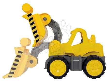 Stavební stroje - Nakladač Power BIG pracovní stroj délka 47 cm žlutý od 24 měsíců_1