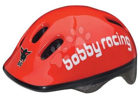 Prilba Bobby BIG veľkosť 48-54 cm červená