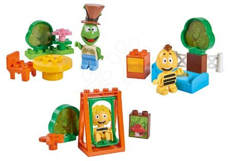 Építőjátékok - Szett 3drb építőjáték Maja a méhecske, Vili és Flip PlayBIG Bloxx BIG 3 figura 24 hó-tól