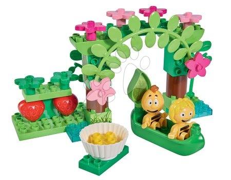 Építőjátékok - Építőjáték Maja a méhecske halastónál PlayBIG Bloxx BIG 2 figura 35 részes 24 hó-tól