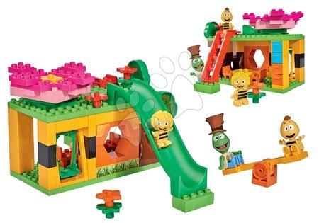 Kocke Čebelica Maja v vrtcu PlayBIG Bloxx BIG 3 figurici in 74 delčkov od 24 mes