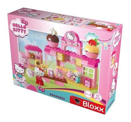 Stavebnice a kocky - Stavebnica PlayBIG Bloxx Backerei BIG Hello Kitty v pekárni s kamarátkou 82 dielov a 2 figúrky od 18 mes_1