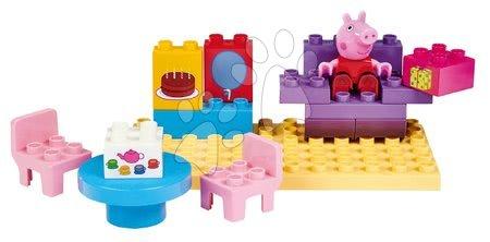 Peppa Pig - Épitőjáték Peppa Pig Basic Sets II. PlayBIG Bloxx figurával a konyhában, 18 hó-tól