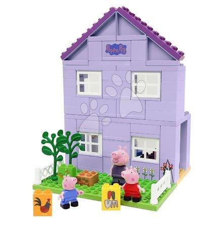 Stavebnice Peppa Pig Grandparents House PlayBIG Bloxx domek prarodičů s 3 figurkami od 18 měsíců