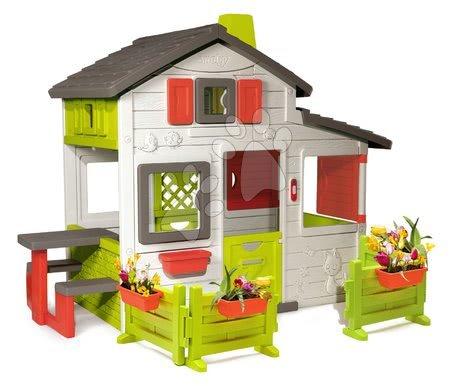 Kućica Friends House Smoby s dva vrta