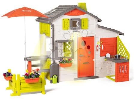 - Házikó Neo Friends House DeLuxe Smoby komplett alap felszereléssel