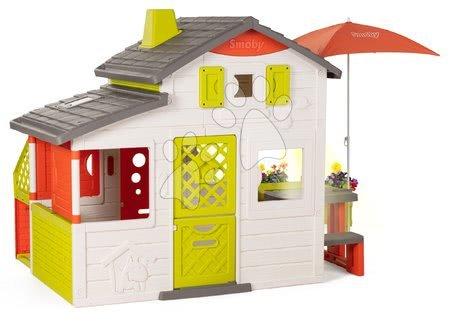 - Házikó Neo Friends House DeLuxe Smoby komplett alap felszereléssel_1