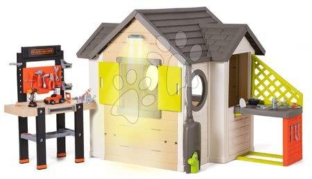 novi-proizvod - Kućica prirodna My New House Smoby s proširenjima i radionicom te kuhinjom_1