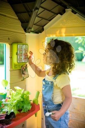 Igračke za djecu od 2 do 3 godine - Vrtna kućica Garden House Smoby s izuzetnom opremom s Bio kavanom i roštiljem od 24 mjes_1