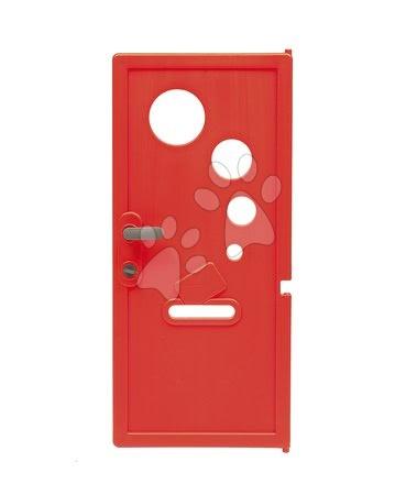 Dveře s funkčním zamykatelným zámkem k Smoby domečku Neo Jura Lodge My House a Friends House s UV filtrem