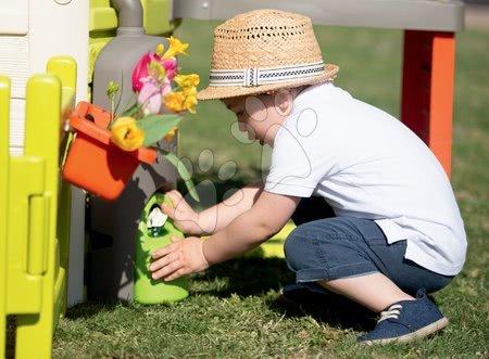 Domečky pro děti - Domeček pro zahradníka Garden House Smoby výjimečně rozšiřitelný s kuchyňkou od 24 měsíců_1
