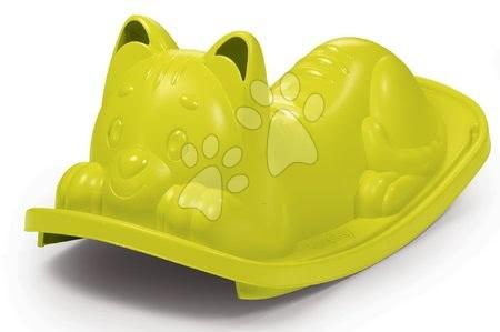 Gyerekhinták - Libikóka Macska Smoby fülekkel a kapaszkodáshoz zöld