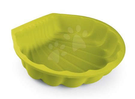 Nisipare pentru copii - Nisipar scoică Mini Sand Pit Smoby verde 35 cm pentru spații mici de la 18 luni SM850202