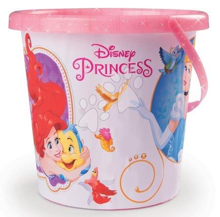 Vedra za pesek - Vedro set s kanglo Disney Princeske Smoby 6 delov (višina 18 cm) 18*18*36 cm od 18 mes_1