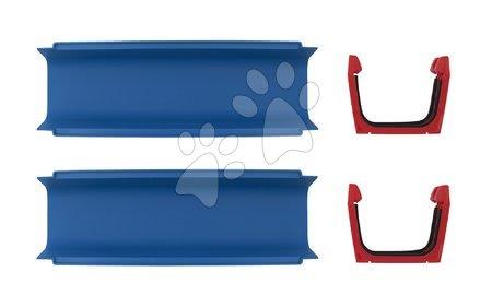 Doplňkové díly AquaPlay rovná část k vodním drahám, set 2 kusů s těsněním