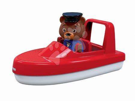 Motorni čamac Aquaplay s kapetanom medvjedom Boom kompatibilan s Duplom
