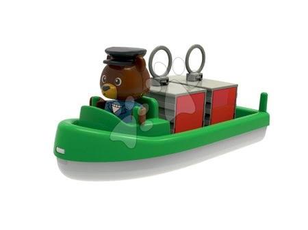 AquaPlay - Konténeres hajók és motorcsónakok AquaPlay vízilóval és medvével 7 drb_1