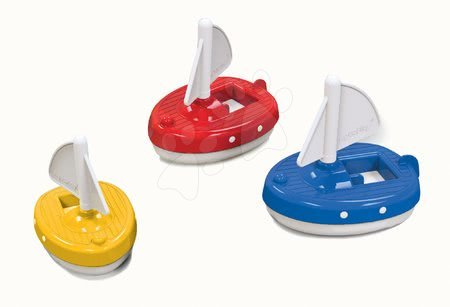 Bărci cu pânze AquaPlay Regatta roşu/albastru/galben