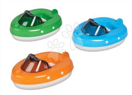 Motorový člun AquaPlay Motorboat modrý zelený nebo oranžový – cena za 1 kus