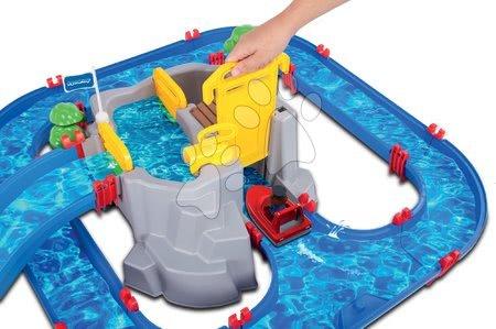 Sestavi si igrače po želji - Vodna steza Mountain Lake AquaPlay z gorsko jamo, toboganom, pregrado in 2 figuricama_1