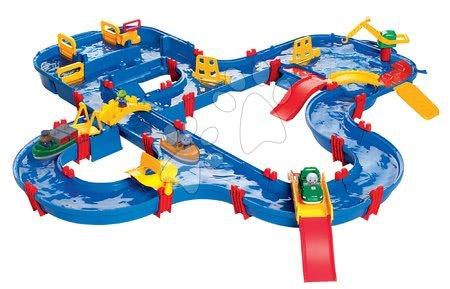 Vyskladaj si hračky podľa predstáv - Vodná dráha Amphie World AquaPlay s priehradou, pumpou a mostami