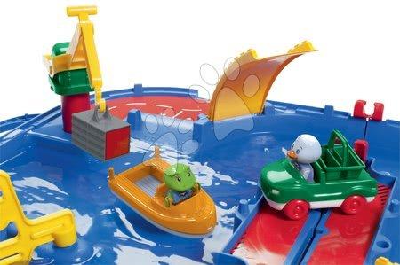 - Szett homokozó Sandy BIG védőfedéllel és vízi pálya AquaPlay Aquaplay'n Go bőröndben 12 hó-tól_1