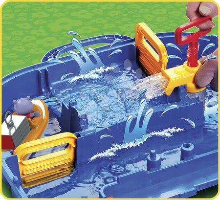- Szett házikó Jóbarátok Smoby konyhácskával és AquaPlay nagy vizi pálya  kertbe_1