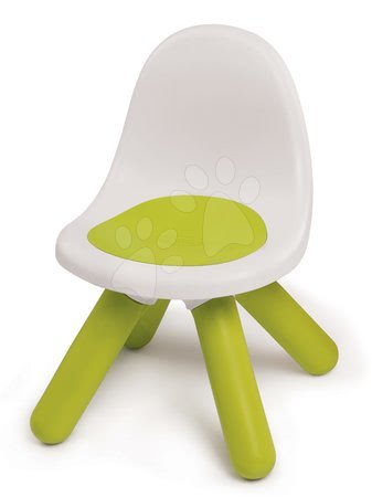 Vyskladaj si hračky podľa predstáv - Stolička pre deti KidChair Smoby zelená s UV filtrom nosnosť 50 kg výška sedadla 27 cm od 18 mes