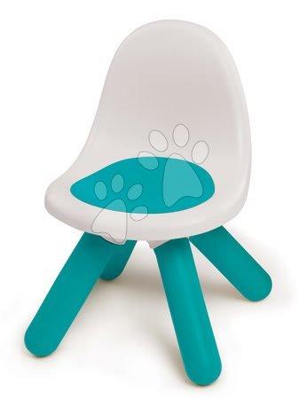 Vyskladaj si hračky podľa predstáv - Stolička pre deti KidChair Smoby modrá s UV filtrom nosnosť 50 kg výška sedadla 27 cm od 18 mes