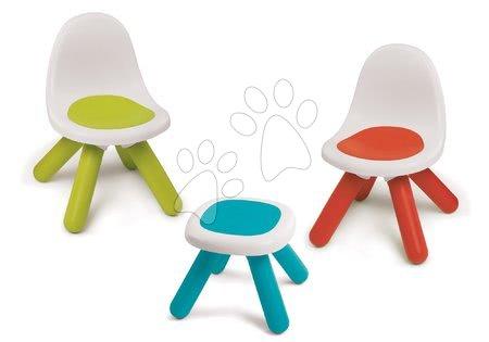 Hrací a piknikové stoly - Set Piknik stolek Smoby se dvěma židlemi KidChair Red od 18 měsíců