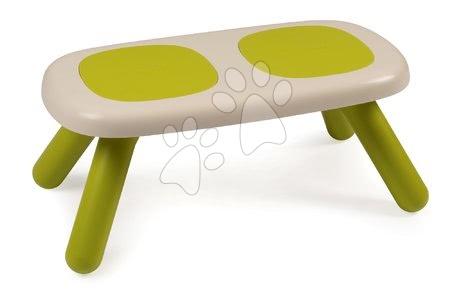 Vyskladaj si hračky podľa predstáv - Lavica pre deti KidBench Smoby zelená s UV filtrom od 18 mesiacov