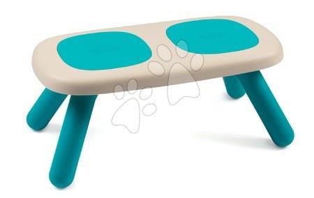Vyskladaj si hračky podľa predstáv - Lavica pre deti KidBench Smoby modrá s UV filtrom od 18 mesiacov