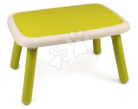 Vyskladaj si hračky podľa predstáv - Stôl pre deti KidTable Smoby zelený s UV filtrom od 18 mesiacov