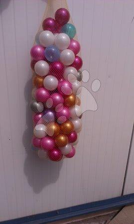 Plastové míčky PB 6 cm perleťové 50 ks