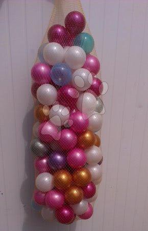 Plastové míčky PB 6 cm perleťové 100 ks