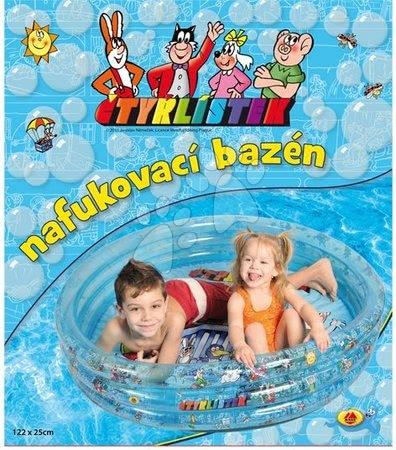 Piscine pentru copii - Piscină gonflabilă trifoi cu Patru Foi 122*25 cm _1