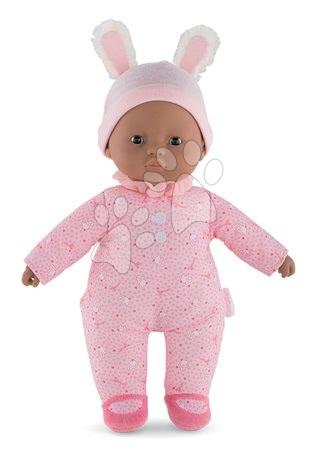 Panenky od 9 měsíců - Panenka Sweet Heart Candy Corolle s černými očima a snímatelnou čepičkou 30 cm od 9 měs