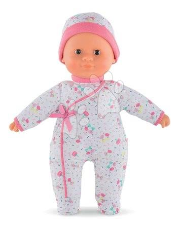 Bábiky od 9 mesiacov - Bábika Sweet Heart Birthday Corolle s hnedými očami a snímateľnou čiapočkou 30 cm od 9 mes_1