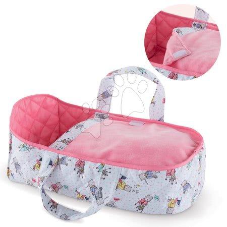 Dodatki za punčke in dojenčke - Prenosljiva posteljica iz blaga Mon Premier Poupon Bébé Corolle za 30 cm dojenčka od 18 mes
