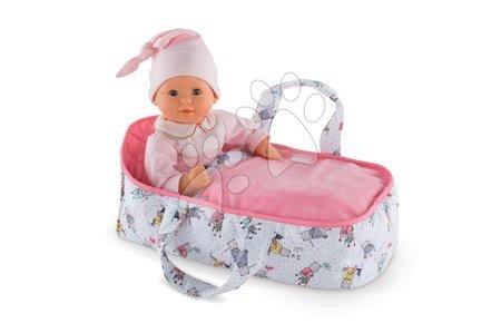 Dodatki za punčke in dojenčke - Prenosljiva posteljica iz blaga Mon Premier Poupon Bébé Corolle za 30 cm dojenčka od 18 mes_1
