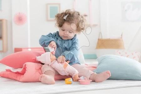 Dodatki za punčke in dojenčke - Jedilni set s slinčkom Bébé Calin Corolle za 30 cm dojenčka 5 dodatkov od 18 mes_1